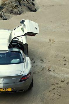 Mercedes Benz SLR AMG.