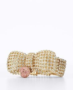 Brilliant Bow Bracelet as part of AnnTaylor's Brilliant Bow Collection