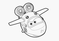 7 Best Super Wings Coloring Pages images | Coloring pages ...