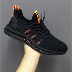 New Mesh Men Sneakers Casual Shoes Lac-up Men Shoes Lightweight Comfortable Breathable Walking Sneakers Zapatillas Hombre Shoes Casual Sneakers, Casual Shoes, Men Casual, Men Sneakers, Comfortable Sneakers, Black Sneakers, Shoes Style, Women's Sneakers, Casual Loafers