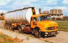 Mercedes 36-95-XB Van Ruiten Tankvervoer.