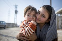 This 13-year-old girl and her youngest brother are Syrian refugees. They live in a tent in Lebanon. (©2014 Nicholas Ralph/World Vision) Blog: how the traditional Lenten sacrifices of prayer, fasting, and almsgiving can help the people of Syria.