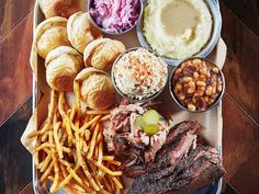 You'll never guess where to find this mouthwatering BBQ platter...