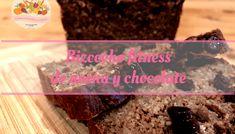 Bizcocho de chocolate con avena