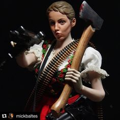 "MAD HEIDI on Instagram: ""Fan made MAD HEIDI action figure by @mickbaltes 😍💫 . . #madheidi #madheidimovie #swissploitation #exploitation #bmovie #cultfilm #heidi…"" Heidi Movie, Fan, Action Figures, Photo And Video, Instagram, Figurative, Hand Fan, Fans"