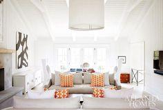 modern farmhouse, bright neutral living room