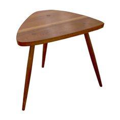 Walnut Tripod Lamp Table by George Nakashima 1