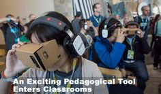 when the #VR #technology has become relatively affordable, it can be expected to tinker down to the#classrooms across the world as #ImmersiveVReducation. #VirtualReality #Pedagogy