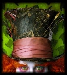 DIY Mad Hatter Hat tutorial...