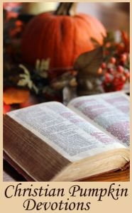 """Christian Pumpkin Devotions...love this blog post from someone who's been torn between celebrating Halloween and completely ignoring it...(we decided to allow our son to dress up for our church fall fest/trunk or treat each year so that he doesn't feel left out, but that's as far as our """"celebrating"""" goes...we don't agree with the ugly side of Halloween)"""