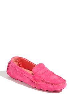 Cole Haan Driving Mocs. In Rock Candy Pink. via #nordstrom. $178.00