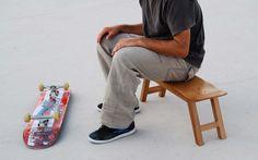 Banc skateboard par Skate Home