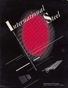 Vintage Brochure International Steel Co by QuinsippiMercantile #FreightCenter