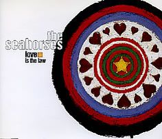 """For Sale - The Seahorses Love Is The Law UK Promo  CD single (CD5 / 5"""") - See this and 250,000 other rare & vintage vinyl records, singles, LPs & CDs at http://eil.com"""