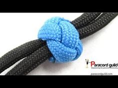 A tutorial on paracord ranger beads.