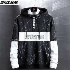 Black And White Hoodies, Hip Hop, Mens Cotton Shorts, Stylish Hoodies, Camo Sweatshirt, Japanese Streetwear, Harajuku, Swag Outfits, Boys Shirts