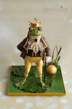 The Frog Prince by Darcey Oliver Cake Couture