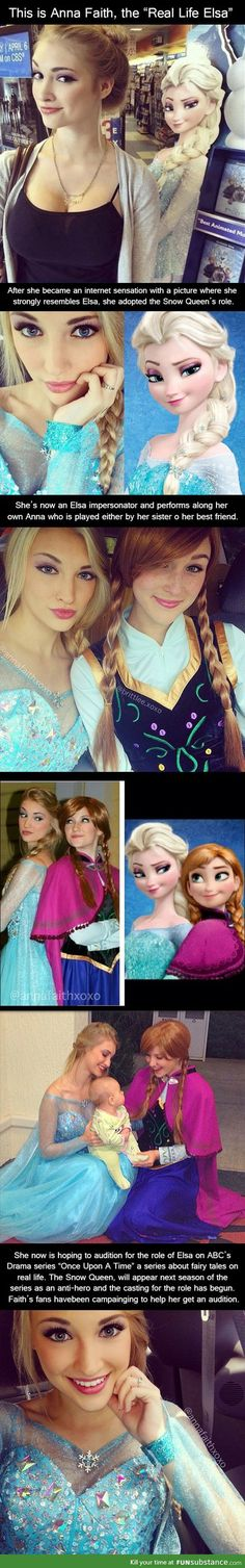 Meet the real life version of Elsa