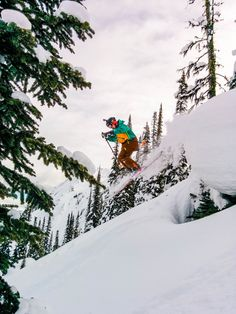 Get some air time off the countless pillow lines!