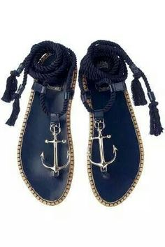 These anchor sandals rule