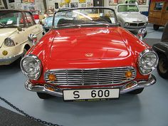 """1965 Honda S600. The S-600 available as a convertible & a fastback coupe and was Honda's first """"mass marketed"""" car. Also the first Honda available in two """"trim"""" levels: standard and a special """"upgraded"""" package called the SM600 which included special paint, badging and quick release of the passenger seat. It was first offered with only Right Hand Steering, but Left Hand Steering was quickly made available for the Export Market. 11,284 convertibles were built between 1964 and 1966"""