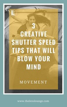 3 ways to use shutter speed creatively to show movement in your photographs. Learning how to use shutter speed for more than just accurate exposure will transform your photography! Click through to find out how to get creative with shutter speed. #photography #phototips #shutterspeed #movement
