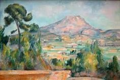 """Paul Cézanne – """"La montagna Sainte-Victoire """""""