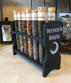 Witch Craft: Test Tube Tea Organizer