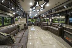 New 2016 Thor Motor Coach Tuscany Luxury Campers, Luxury Motorhomes, Rv Motorhomes, Luxury Bus, Motorhome Interior, Rv Interior, Luxury Rv Living, Rv Homes, Camper Renovation