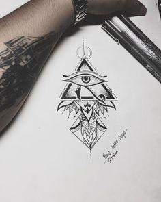 Mandala Horus eye // Designed by BenZ.Tattoo Design Available to booking … Mandala Horus eye // Designed by BenZ.Tattoo Design Available to booking … Black tattoos Mandala Horus eye //. Forearm Tattoos, Body Art Tattoos, New Tattoos, Hand Tattoos, Tattoos For Guys, Sleeve Tattoos, Arabic Tattoos, Dragon Tattoos, Flower Tattoos