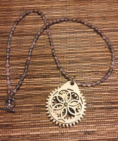 Mystery Playground: Steam Punk Moving Gear Necklace