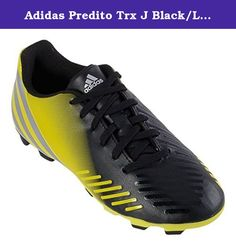 Adidas Predito Trx J Black/Lab Lime/Silver 4. With the adidas youth predito lethal zones lz trx fg soccer shoes you are sure to make an impact on the field! These shoes feature a soft, synthetic leather upper and a traxion outsole built for speed and traction on gameday. Upper: synthetic leather upper for reduced weight and a soft feel on the ball. Asymmetrical lacing increases strike zone. Midsole: die-cut eva for lightweight support and comfort. Outsole: traxion fg stud configuration…