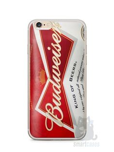 Capa Iphone 6/S Plus Cerveja Budweiser