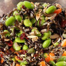 Wild Rice and Edamame Salad Recipe Recipe