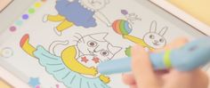 Capture colors and transfer it to your art! The all-new Mozbii Stylus Pens is the considered to be the first ever color picking stylus that allows kids AND parents explore the wonders of colors. By simply holding it to an object or color you want, Mozbii automatically 'captures' and stores the color you want and …