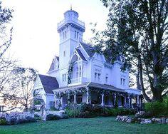 Practical Magic Victorian wraparound porch