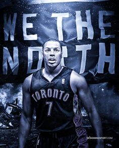 Kyle Lowry, Toronto Raptors ('We the North')