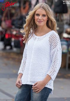 Match this lovely sweater with your favorite tank top.