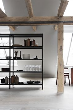 vosgesparis: A VIPP loft in Copenhagen you can call yours for the night #vipp #vippkitchen #hotel #loft#copenhagen #vipplamps #withstyle #withstylenu #minimalism