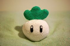 Sabrina's Crochet: Crochet pattern Turnip (Captain Toad / Super Mario)