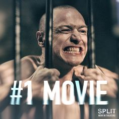 #Split is the number one movie in America! See it in theaters NOW. Link in bio.
