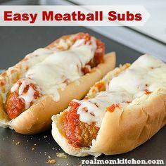 Easy Marinara Meatballs Subs Recipe on Yummly. @yummly #recipe