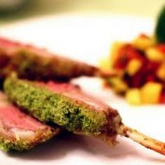 only way i like lamb. Gordon Ramsay's Herb Crusted Rack of Lamb from The F Word – Series 1 Herb Crusted Rack Of Lamb Recipe, Lamb Recipes, Cooking Recipes, Gourmet Cooking, Kitchen Recipes, Chef Gordon Ramsay, Lamb Dishes, Lamb Chops, The Best