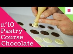 Monogram. Chocolate ensign with company name (Logos). Vira Pastry & C. - YouTube