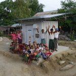 Panasonic fournit la «Power Supply Station», un bloc d'alimentation photovoltaïque autonome destiné aux zones hors réseau du Myanmar