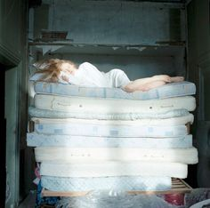 """Twice upon a time"" | Model:  Emma Laird | Photograph by Hellen Van Meene | Garage Magazine |"
