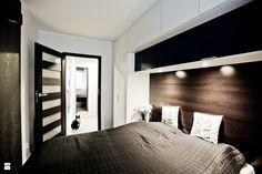 Nowoczesne wnętrze z dodatkiem granatu - zdjęcie od sandroom - Sypialnia - Styl Nowoczesny - sandroom Sweet Home, Interior Design, Storage, Modern, Inspiration, Furniture, Home Decor, Wardrobe Ideas, Bedrooms