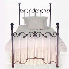 Annes Iron Girls Bed