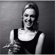 Lose the cigarette and this is exquisite.  Edie Sedwick
