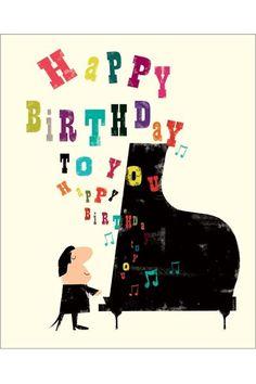 Pianista Happy Birthday To You
